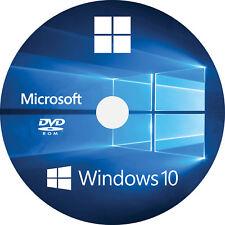 WINDOWS 10 HOME 32 64 BIT FIX REPAIR INSTALL REINSTALL DVD UK LATEST