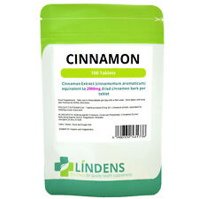 Cinnamon 2000mg 200 Tablets High Strength Weight Loss Digestive Cramps Flu