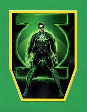 GREEN LANTERN HAL JORDAN PRINT PROFESSIONALLY MATTED Jamie Tyndall DC