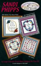 MOTHER, DAUGHTER, SISTER, FRIEND COLLECTION Cross Stitch Pattern Software CD-ROM