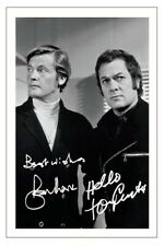 ROGER MOORE & TONY CURTIS SIGNED AUTOGRAPH PHOTO PRINT THE PERSUADERS