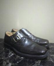 Vtg Florsheim Imperial Men's Dress Loafer Brown Strap w Buckle Sz 9 ½ D