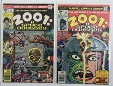 2001: A Space Odyssey 1 - 10 Complete Run Set Lot 1st Machine Man!