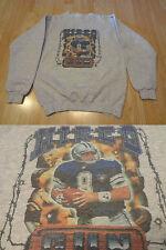 Youth Dallas Cowboys Troy Aikman L Vintage Crew Sweatshirt