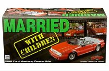 GMP 1:18 Married With Children 1988 Ford Mustang 5.0 Convertible Car GMP18904