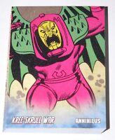 . Avengers Kree-Skrull War Retro cards 27 card set by Upper Deck 2011