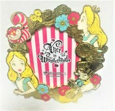 Disney Alice in Wonderland Picture Frame Photo stand Tokyo DisneyLand F/S Rare