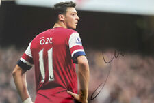 Mesut Ozil Hand Signed Autograph Photo Arsenal FC Germany with COA