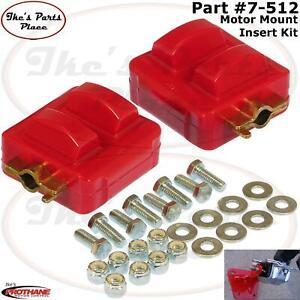 PROTHANE 7-512 LS1 V8 Motor Mount Insert Bushing Kit 98-02 Chevy Camaro/Firebird