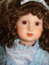 """Beautiful Depose E142J Jumeau Antique Reproduction Doll 27"""" All Orig. Great Cond"""