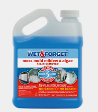 WET & FORGET Mold & Mildew STAIN REMOVER Moss Algae All Surface Spray 64 oz NEW!