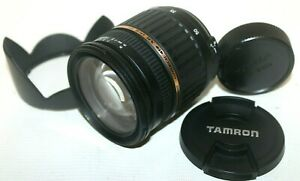 Tamron AF 17-50mm f2.8 (IF) XR Di-II SP Lens For Nikon with Both Caps & Hood