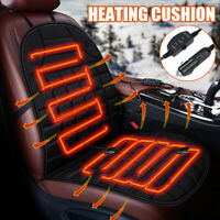 12V Electric Heated Car Front Seat Cover Pad Universal Mat Winter Warmer  t