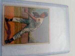 1950 BOWMAN BASEBALL CARD #48 LELAND LOU BRISSIE