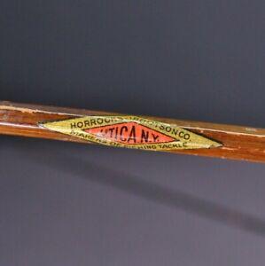 Horrocks Ibbotson Co Utica NY 7' Fly Rod 1930s Fishing Pole Antique Vintage H-I