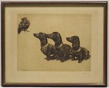 Originaldrucke (1900-1949) mit Zoologie-Motiv