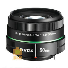 NEW BOXED PENTAX SMC DA 50mm F/1.8 F1.8 LENS FOR K-01 K-5 K-7 K-30 K-50