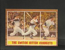 1962 Topps # 318 Mickey Mantle IA NM +++