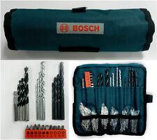 Bosch Multi-Purpose Power Bit Set, Driver Drill Bits for Wood concrete metals