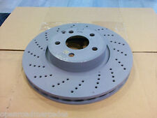OEM GENUINE MERCEDES BENZ NEW FRONT BRAKE ROTORS X2 FOR W204 C300 C280 SPORT
