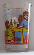 Verre à moutarde PETIT OURS BRUN Bayard Presse FR3 1988. VM1035