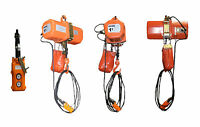 1 ton Electric Chain Hoist 2000 lb. electric crane hoist HD Super 2000 20ft Lift