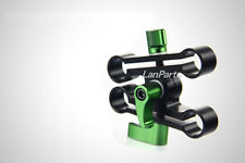 Lanparte Adjustable Height Raise Clamp for 15mm Rod DSLR Video Support Rig 5D2