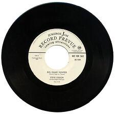 "STEVE GIBSON & The ORIGINAL RED CAPS  ""BIG GAME HUNTER""  STORMING R&B"