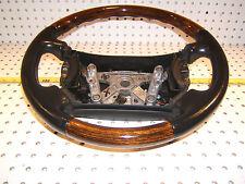 Jaguar 2000 XJR V8 Leather WOOD Steering OEM 1 Wheel / No air bag,HJB 9181DBLEG