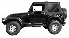 1997-2006 JEEP WRANGLER REPLACEMENT BLACK DAIMOND SOFT TOP REAR TINTED WINDOWS