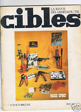 CIBLES N°72  ARMES TIR CHASSE / HUNTING ARMS