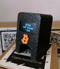 More details for crypto coin ticker - bitcoin- wifi - real time price - ethereum - doge /usd gbp
