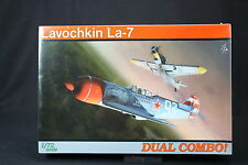 YU036 EDUARD 1/72 maquette avion 7061 Lavochkin La-7 Dual Combo