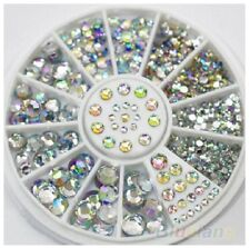 750 CLEAR STICK ON DIAMONTE GEMS CRYSTAL RHINESTONE DIAMANTES