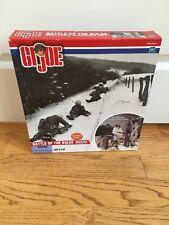 Hasbro GI Joe Battle Of The Bulge Military Diorama Set Unsealed Read Description