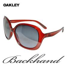 OAKLEY BACKHAND - womens sunglasses -- OO 9178-02  -- CHERRY RED - BLK GREY LENS