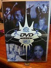 MADONNA - VOGUE - WARNER PROMO MUSIC SAMPLER DVD - CHER METALLICA CORRS REGION 2