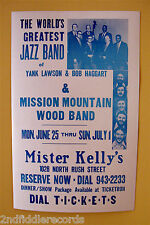 THE WORLD'S GREATEST JAZZ BAND-RARE CONCERT POSTER-Mister Kelly's Chicago