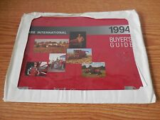 CASE IH 1994 BUYERS GUIDE BROCHURE LITERATURE AD IN MAILER PACKAGING