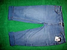Women's Who What Wear Cropped Plus Size Denim Jeans 100% Cotton 24W NWT