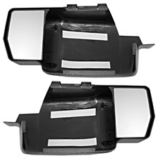 Fits 09-14  F150 Snap On Tow Mirror Extensions Left & Right Pair