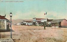 c1910 Tia Juana Street Scene - Mexican Postcard Shop, Tijuana, Mexico Postcard 2