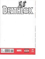 Deathlok #1 BLANK VARIANT AGENTS OF SHIELD Great for Sketches NM+ 9.6-9.8
