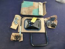 NOS 60 61 Chevy Pickup Outside Rear View Mirror/Brackets RARE ACCESSORY 988246