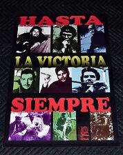 Political OSPAAAL Solidarity Original Cuban POSTER.Che Guevara.Hasta la Victoria