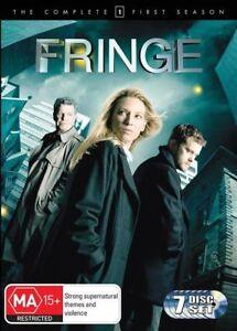Fringe Season 1 SERIES ONE (DVD : MASSIVE  7-Disc Set) REGION 4 AUSTRALIA