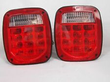 JEEP WRANGLER LED TAIL LIGHTS 1974-2006