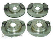 for HONDA ACCORD 2.0 2.2 I-DTEC 08-14 FRONT & REAR BRAKE DISCS & PADS CHECK SIZE
