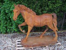large cast iron Horse , Sculpture of large Horse , Big garden Horse statue
