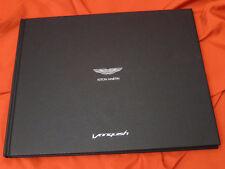 2014 Aston Martin Vanquish Volante Hardcover VIP Prospekt Brochure - 2013